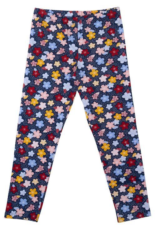 Calça Feminina Infantil Legging Estampada Floral