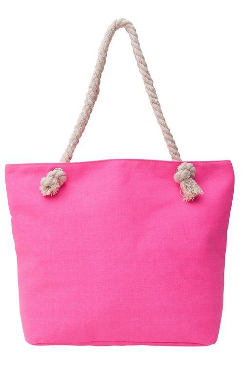Bolsa Praia Rosa Neon