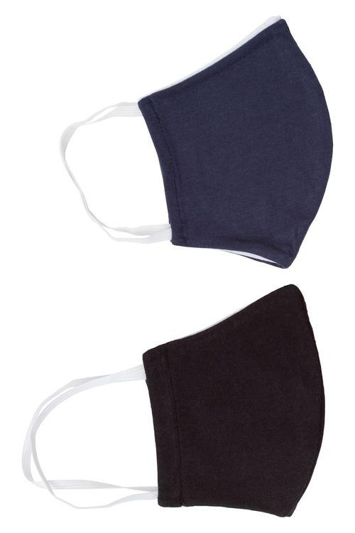 Kit adulto com 2 máscaras de proteção