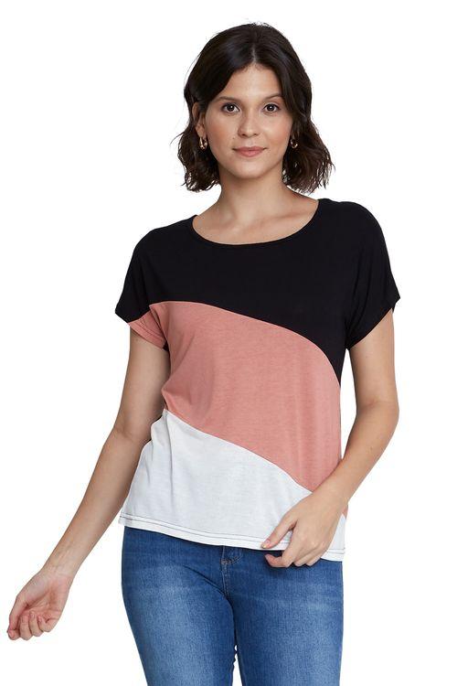 Camiseta Feminina Tricolor Napolitano