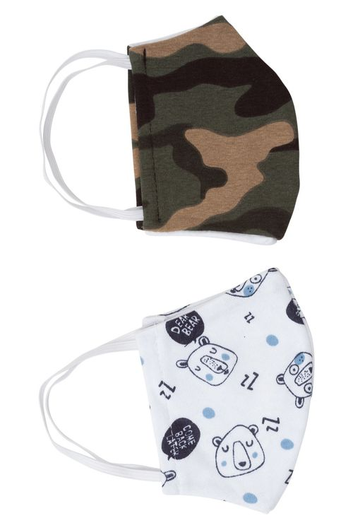 Kit infantil com 2 máscaras de proteção