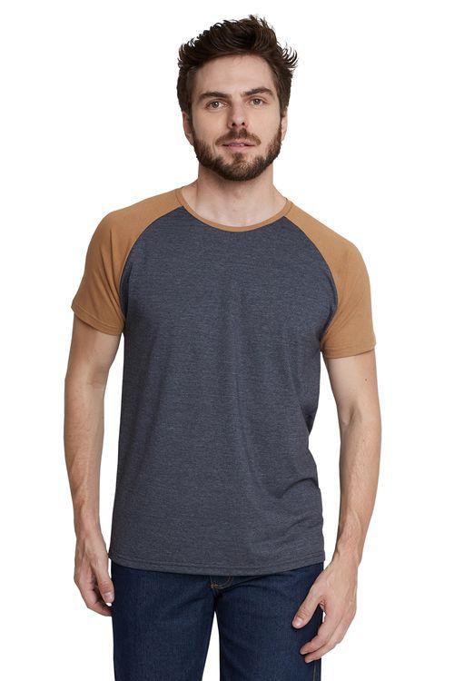 Camiseta Masculina Raglan