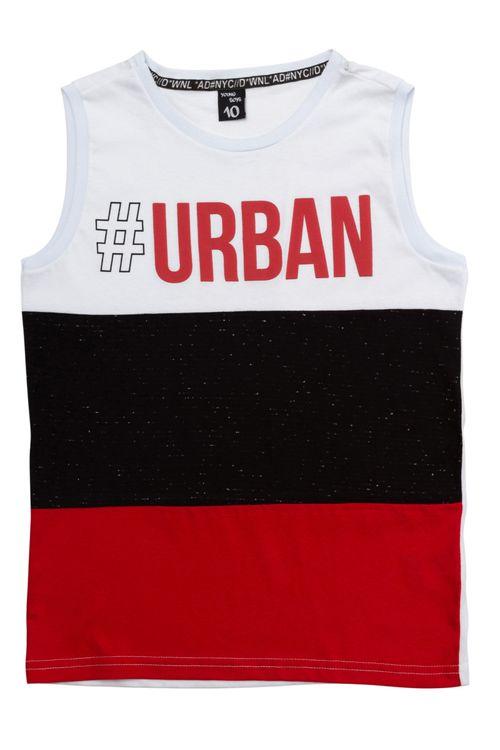 Regata Infantil Masculina Urban Tricolor