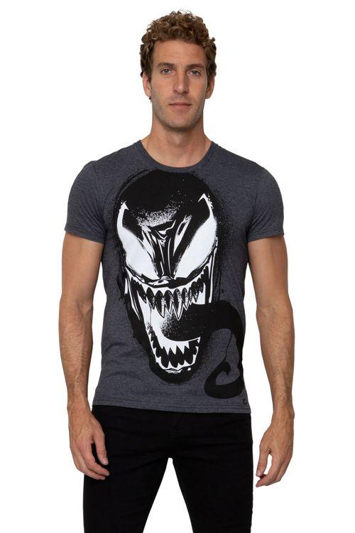 Camiseta Masculina Estampada Venon