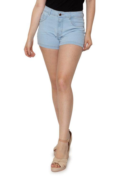 Shorts Feminino Jeans Claro