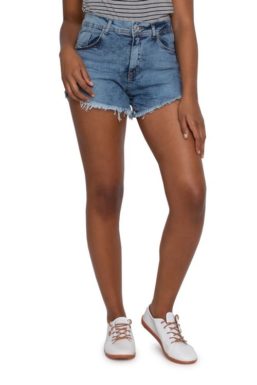 Shorts Jeans Feminino Hot Sortidos  Desfiado