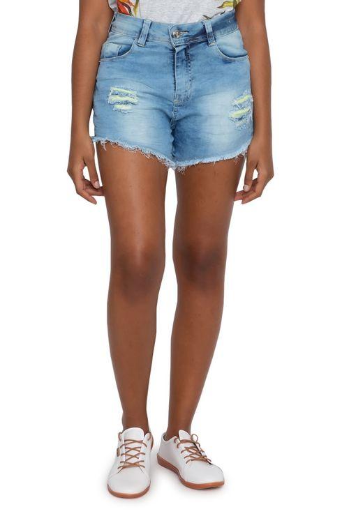 Shorts Feminino Jeans Hot Pants
