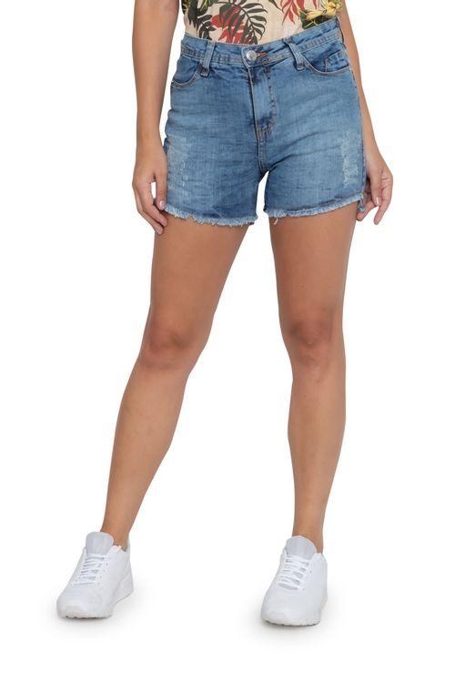 Shorts Feminino Jeans Hot Sortidas