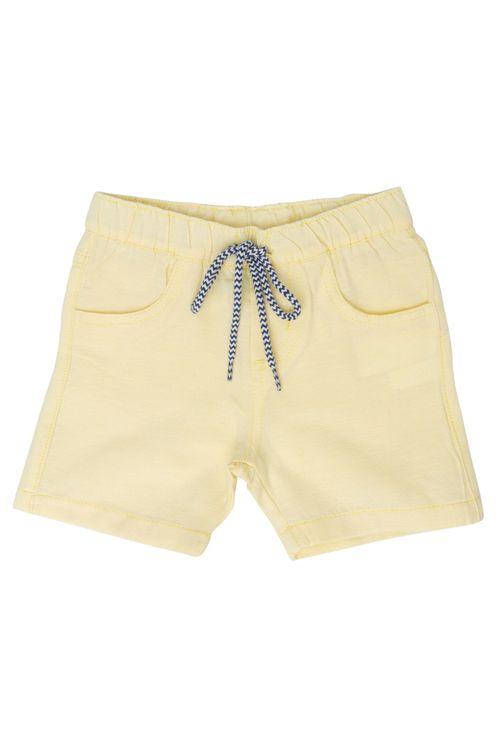 Bermuda Infantil Masculina Ecoline Amarela