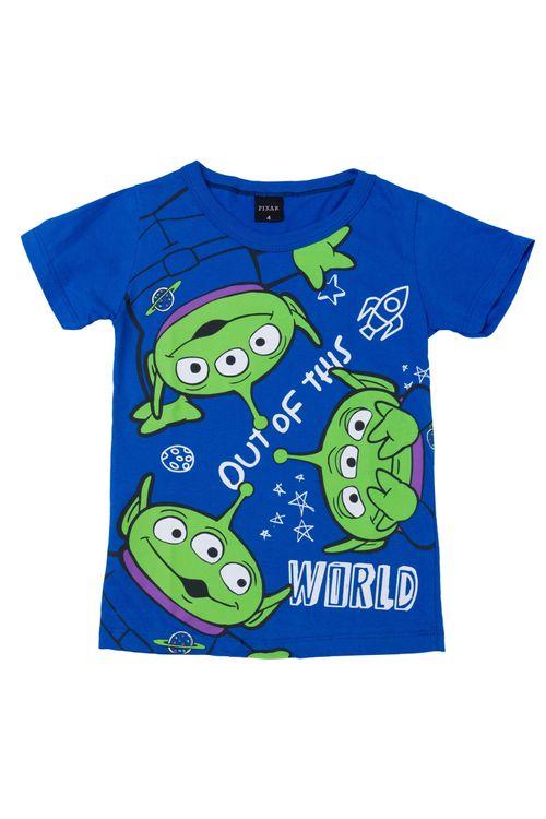 Camiseta Infantil Masculina Toy Story Azul