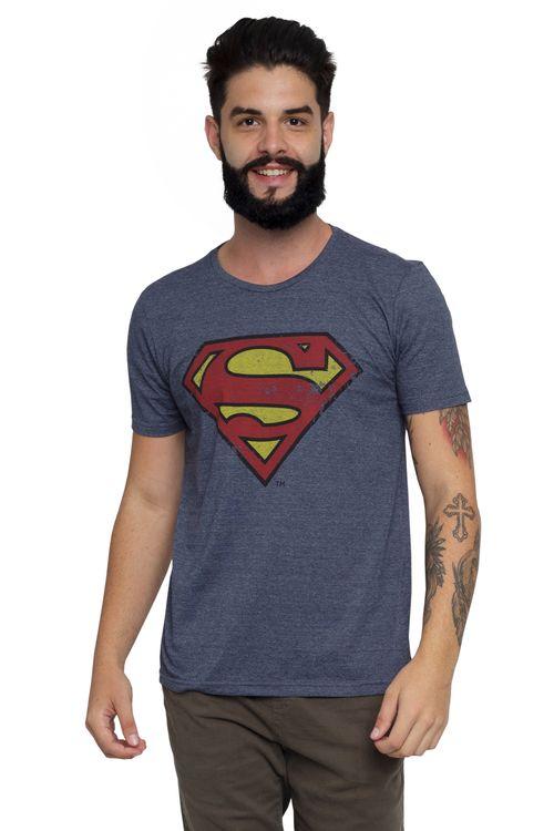Camiseta Masculina com estampa Super Homem