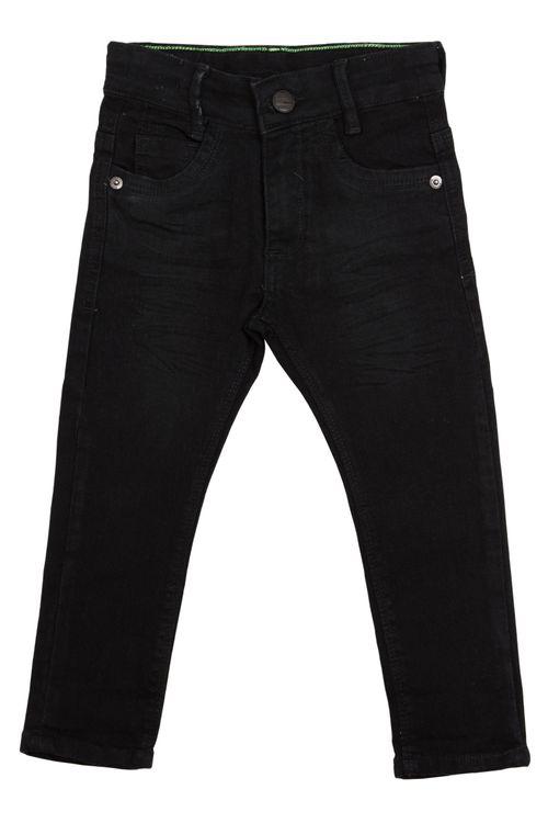 Calça Jeans Infantil Masculina Preta