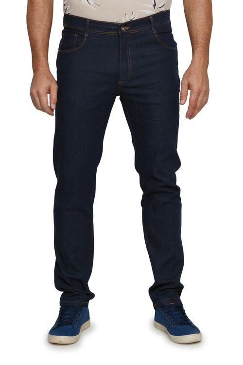 Calça Jeans Masculina Reta Amaciada