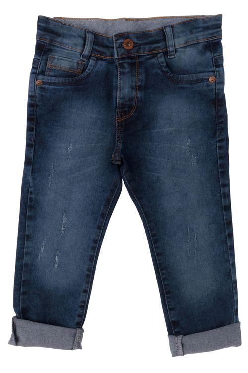 Calça Jeans Infantil Masculina Acinzentada