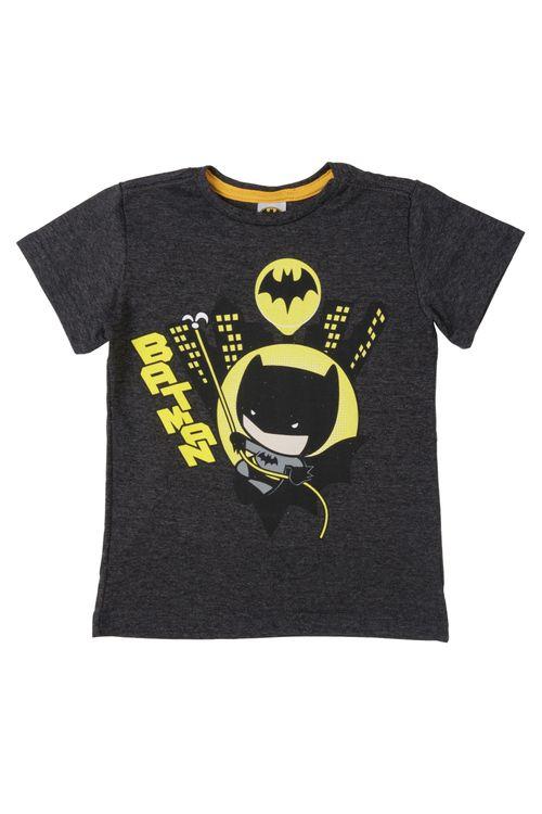 Camiseta Infantil Masculina Batman Chumbo