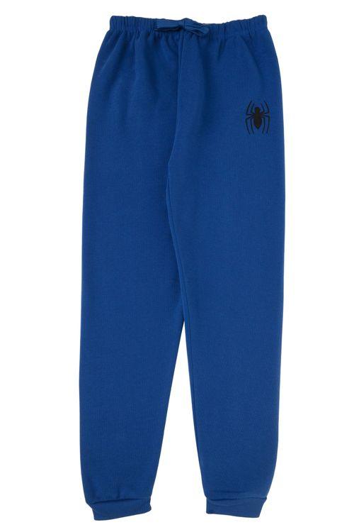 Calça Infantil Masculina Homem Aranha Azul