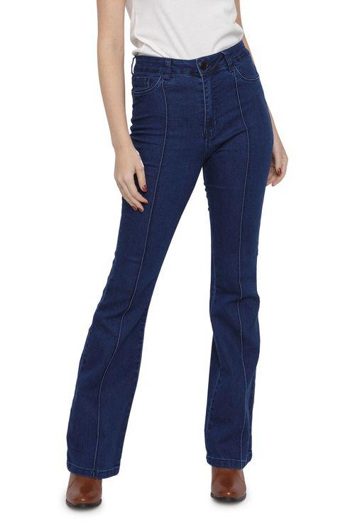 Calça Feminina Jeans Flare