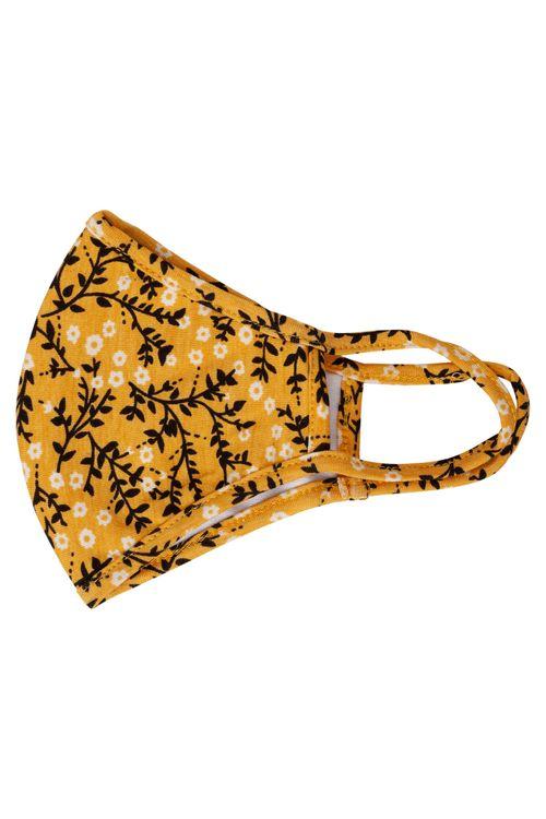 Mascara de Proteção Feminina Amarela