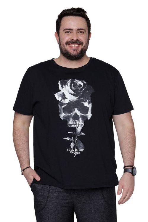 Camiseta Masculina Caveira Super