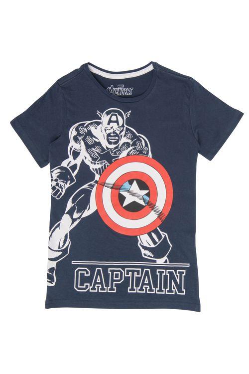 Camiseta Juvenil Capitão América