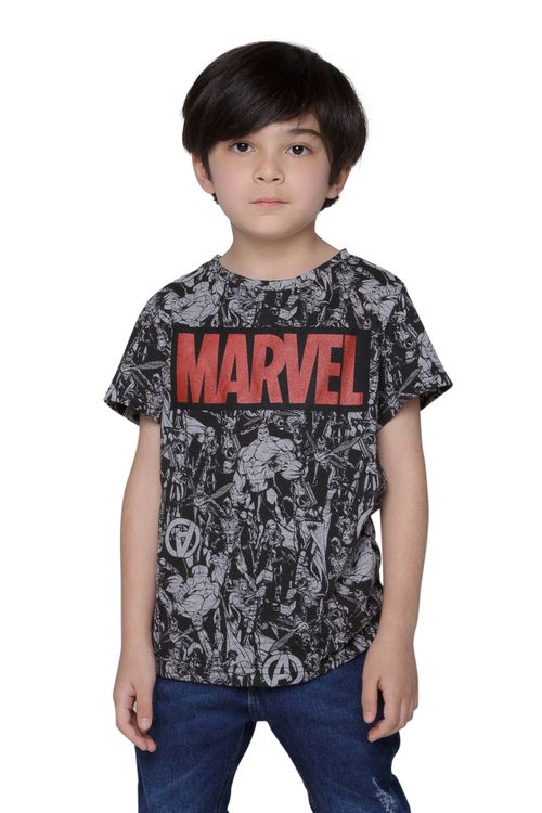 Camiseta Infantil Marvel