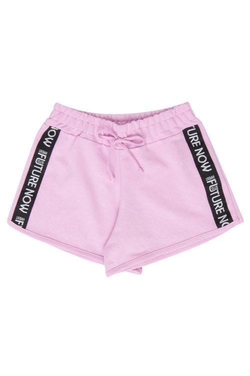 Shorts Juvenil Lilás