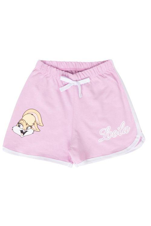 Shorts Infantil Lilás Lola