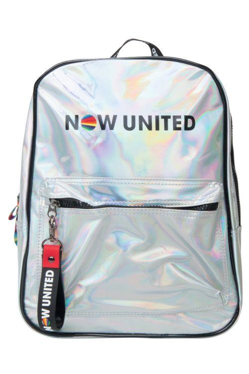Mochila Now United Prateada